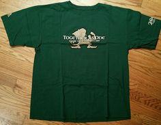 Notre Dame Football 2007 Irish Green Tradition T-Shirt Men's Large The Shirt New…