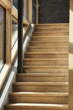 Where Beauty Meets Function. Next-generation architecture. Setting the standard for energy efficiency and passive house design. Energy Efficiency, Passive House Design, Stair Steps, Architect House, Sustainable Architecture, Rustic Elegance, New Builds, Beautiful Space