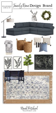 From dark and dated to bright and open, check out this Modern-Classic Family Room Design! From dark and dated to bright and open, check out this Modern-Classic Family Room Design! New Living Room, Home And Living, Living Room Decor, Family Room Decorating, Family Room Design, Decorating Ideas, Style At Home, Design Typography, Classic Home Decor