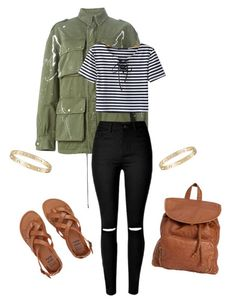 """""""Untitled #3491"""" by yourmajestyjordine ❤ liked on Polyvore featuring Faith Connexion, Cartier and Billabong"""