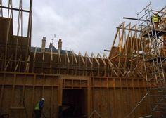 St Leonards Project | Pasquill Roof Trusses
