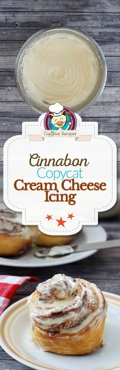 Make your own copycat version of Cinnabon Frosting with this easy recipe.