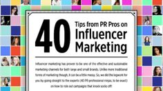40 Public Relations Tips From Pros On Influencer Marketing