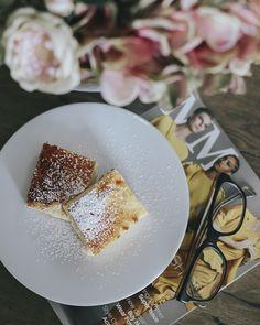 beauty junkie blog Gyors túrós süti Kefir, Naan, Panna Cotta, Treats, Ethnic Recipes, Desserts, Blog, Sweet Like Candy, Tailgate Desserts