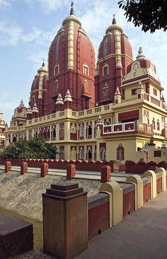 ✯ Birla Hindu Temple in Dehli, India