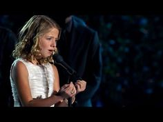 Jackie Evancho Sings The Lord's Prayer... BEAUTIFUL.... THE VOICE OF AN ANGEL ♡