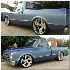 Tattoo's cars and bike's. Vintage Chevy Trucks, 67 72 Chevy Truck, Classic Chevy Trucks, Chevy C10, Chevy Pickups, Classic Cars, C10 Trucks, Lifted Chevy Trucks, Chevrolet Trucks