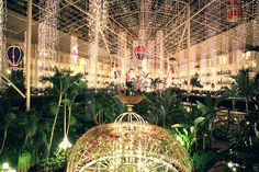 Opryland Hotel Resort and Convention Center with 5 Indoor Garden Habitats... I'm still trying to understand what it is...