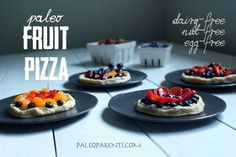 Fruit Pizza on Paleo Parents - Egg-free, nut-free, gluten-free, grain-free, AIP Paleo Friendly!