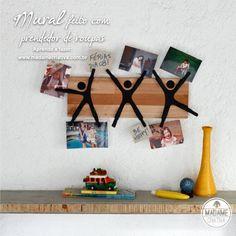Fotolijstje maken Palette, Floating Shelves, Back To School, Objects, Felt, Diys, Kawaii, Invitations, Activities