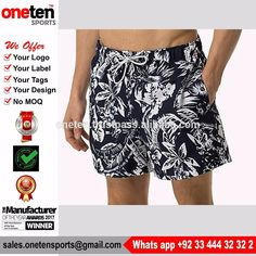 2017 new 100% Nylon swimtrunks swimwear men swim trunk long swim shorts with mesh lining Swimwear & Beachwear