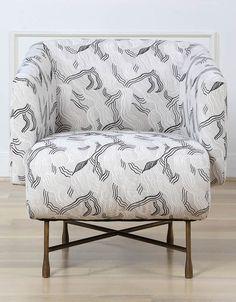 Chair in Kelly Wearstler Jubilee-comes in 5 colors