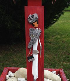 Mademoiselle Gladys du bois flotté : Autres art par les-toiles-de-mer-de-syl