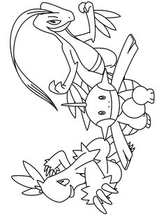 pokemon group coloring pages - photo#37