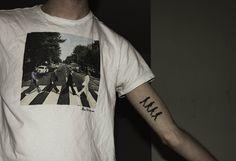 Beatles tattoo!  DUH best idea ever.