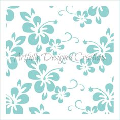Perfect for cookies, cakes, or even craft projects. Cookie Decorating Supplies, Cricut Stencils, Wedding Cake Inspiration, Cake Pops, Hibiscus, Arts And Crafts, Tropical, Unique Jewelry, Mini