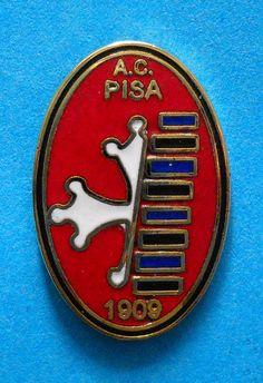 DISTINTIVO SPILLA PIN - A.C. PISA CALCIO - cod. 321