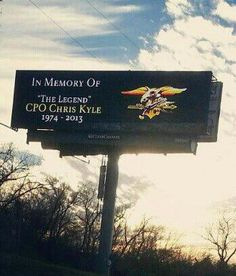 so proud of our Texas! RIP Chris Kyle, a true American hero