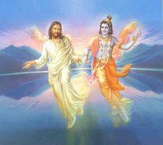 Christ and Krishna.