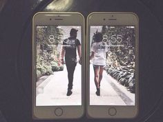 This perfectly lined-up lockscreen. Couple Photography, Fall Photography, Boyfriend Girlfriend, Girlfriend Goals, I Have A Boyfriend, Future Boyfriend, Boyfriend Goals, Future Husband, Iphone 7 Lock Screen