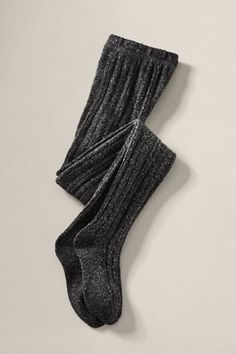 These textured tights look so incredibly cozy... exactly what I need on cold winter days when I want to be  cute AND warm (Women's Cable Tights in Charcoal Heather, $24.50)