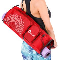 Yoga Bag  Tote Bag for All Mat Sizes *** Click image for more details. (This is an affiliate link) #yogaleggings