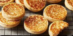 Buttermilk Crumpets | Food & Wine Brunch Recipes, Wine Recipes, Breakfast Recipes, Brunch Food, Breakfast Pastries, Waffle Recipes, Breakfast Ideas, Bread Recipes, Easy To Make Breakfast