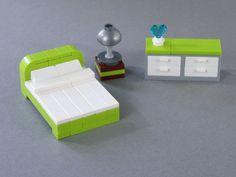"""Résultat de recherche d'images pour """"lego furniture modular bed"""""""