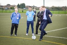 Pin for Later: Prince William Is Such a Dad While Playing Football