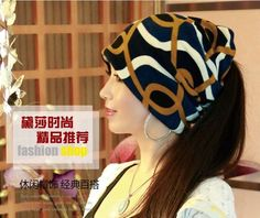 2 Use Cap Knitted Scarf & Winter Hats for Women