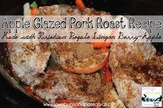 Kristian Regale Sparkling Beverages Review. Apple Glazed Pork Roast Recipe. Yum!