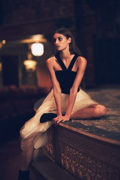 Taylor Hill in Free People Holiday November 2015 Moonlight Magic