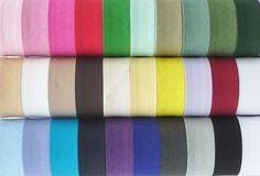 Polycotton Bias Binding 32 Colours Widths 16mm /& 25mm  Per 5m  Free P/&P