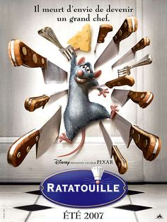 Ratatouille de Brad Bird, 2007