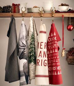 Kjøkkenhåndkle med fototrykk | Hvit/Rein | Home | H&M NO