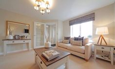Neutral lounge Home Living Room, Living Room Designs, Living Room Decor, Taylor Wimpey, New Homes, Decorating Ideas, Decor Ideas, Lounge Ideas, Storage