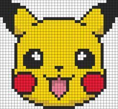 Pokemon Craft & Fun Activities Pikachu Hama bead pattern like if you played some of the first generations games.Pikachu Hama bead pattern like if you played some of the first generations games. Pikachu Pikachu, Fuse Bead Patterns, Perler Patterns, Beading Patterns, Cross Stitch Patterns, Kandi Patterns, Beading Tutorials, Bracelet Patterns, Pokemon Perler Beads