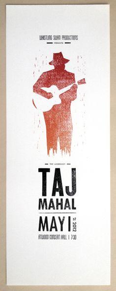 Taj Mahal Poster by Craig Updegrove