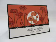 Stamping Moments: Pleasant Poppies....