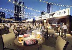ヒルトン東京HennessyメロンなどVIPメニューが楽しめる天空のビアガーデン 肉テラス開催