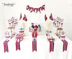 Visit the post for more. Constitution Day, Norway, Table Settings, Place Settings, Tablescapes