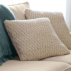 Nubby Knit Pillow Cover | Serena & Lily