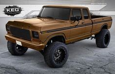@kegmedia Rendering we just finished up for @matt_six7 of his1978 OBS Ford.