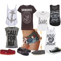 """""""Forth of July outfit options"""" by kdel8 on Polyvore"""