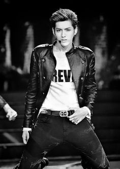 """One pinner said: """"Wu Yifan. Must you kill me with your sexiness. But damn Kris Oppa you be lookin' SMEXY!"""" X'D X'D"""