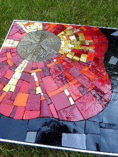 Interesting mosaics on this site