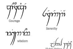 Gallery For > Elvish Words And Phrases