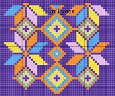 Risultati immagini per mochila bag crochet pattern free Tapestry Crochet Patterns, Crochet Stitches Patterns, Loom Patterns, Beading Patterns, Cross Stitch Patterns, Mochila Crochet, Bag Crochet, Crochet Purses, Crochet Chart