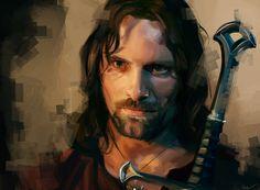 Les personnages de films et séries en digital painting de Namecchan