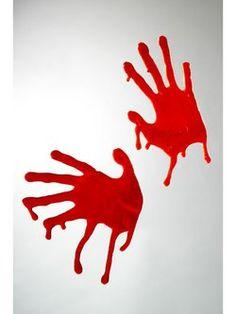 Blodige hænder
